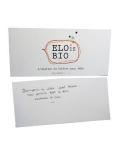Carte Message Elo is Bio2