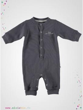 Combinaison bébé grise