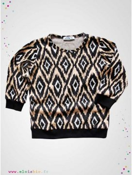 "Sweat ""Ikat"" collection Tac Top"