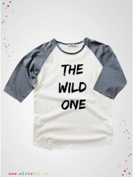 "T-shirt ""The Wild One"" collection Mika Raglan"