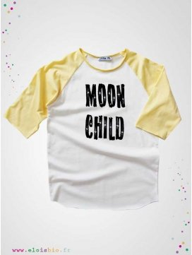 "T-shirt ""Moon Child"" collection Mika Raglan"