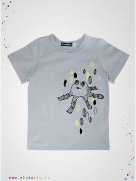 eloisbio-monsters tshirt gris