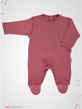 Pyjama bébé brique motif hérisson