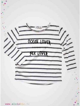 T-shirt marinière Ocean Lover collection Sal Top