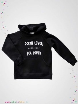 Sweat à capuche Ocean Lover collection Arti Hoodie
