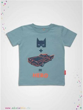 T-shirt enfant SUPER HERO