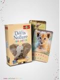 Jeu de cartes, Défis Nature des Petits - Savane