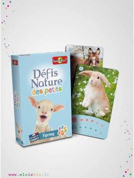Jeu de cartes, Défis Nature des Petits - Ferme