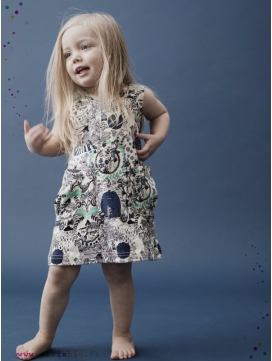 "Robe enfant ""In the garden"""