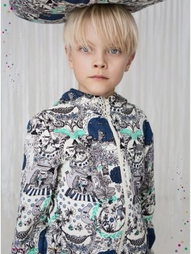 "Veste enfant ""In the garden"""