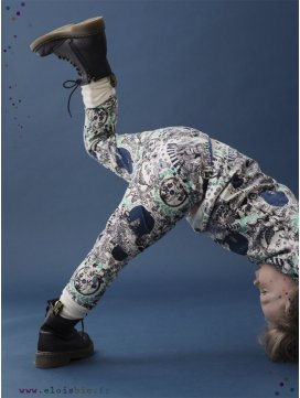"Leggings enfant ""In the garden"""