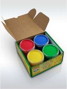 Peintures-doigts-rouge-bleu-jaune-vert-okonorm-ELOisBIO