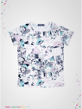 "T-shirt enfant manches courtes ""The Valley"""