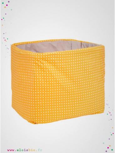 eloisbio-maxi cube etoiles de rangement jouets alex