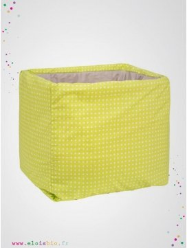 eloisbio-maxi cube etoiles de rangement jouets lulu