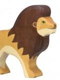 Lion en bois