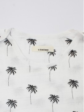 Gigoteuse Jenny - imprimés Palmiers