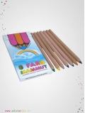 Crayons de couleur pointes 6mm