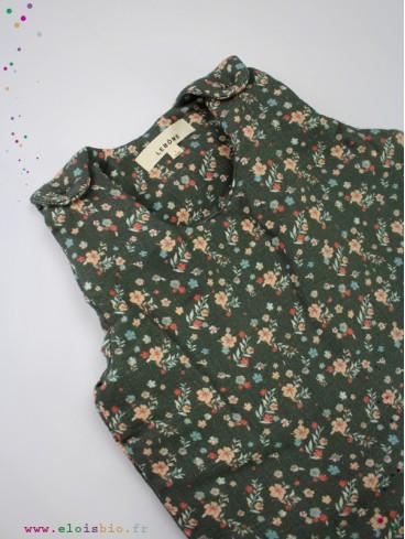 Gigoteuse Joséphine - Fleurs Vert
