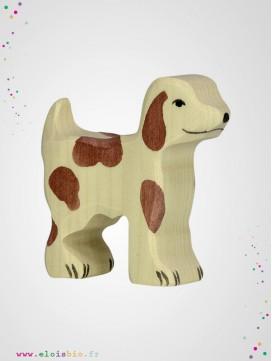 Petit chien de ferme en bois