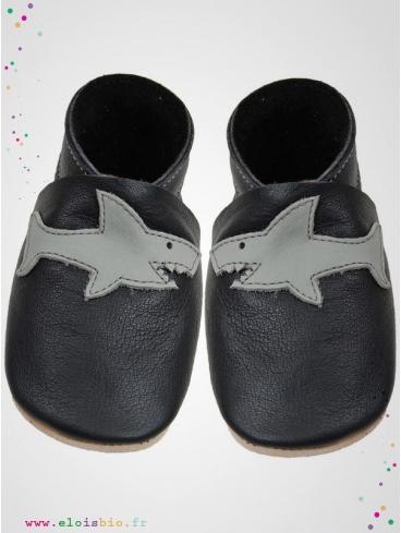 eloisbio-chausson sharky noir-gris bellio