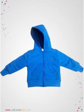 Gilet bleu doublé polaire