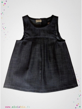 Robe enfant en denim