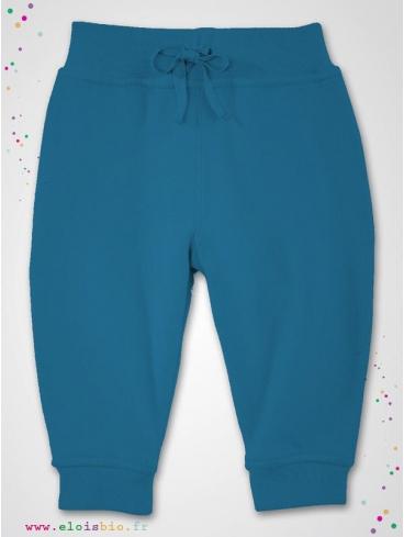 eloisbio-pg300 pantalon interlock bleu