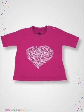 "T-shirt ""Cœur"""