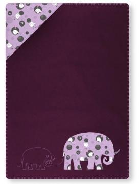 eloisbio-cp160 couverture prune 'mini poule'