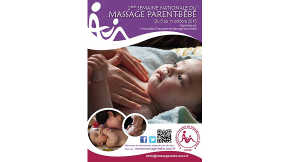 LA SEMAINE NATIONALE DU MASSAGE PARENT-BÉBÉ!
