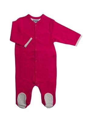 eloisbio-pyjama-rouge-framboise