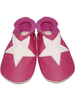 eloisbio-chausson etoiles rose-blanc bellio