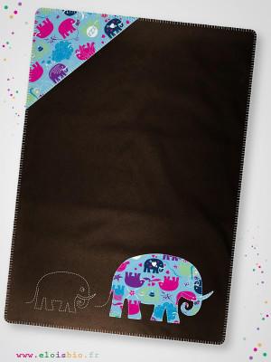 eloisbio-cp120 couverture chocolat +-®l+-®phant minizabi