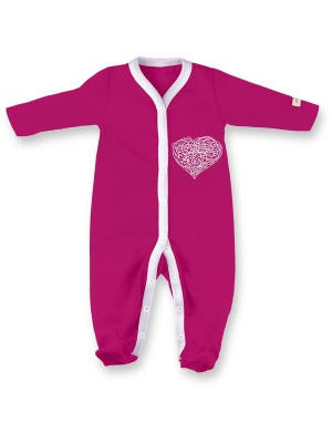 eloisbio-db08 pyjama rose violette coeur