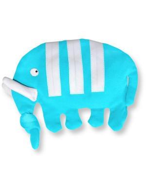 eloisbio-dd120 doudou minizabi bleu turquoise