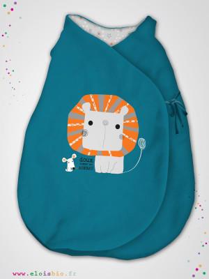 eloisbio-ge1403 1404 minizabi gigoteuse bleu mini lion