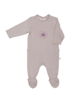 eloisbio-pyjama Taupe bebobio