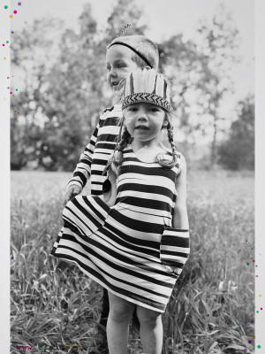 Aarrekid Robe enfant Stripe ELO is BIO