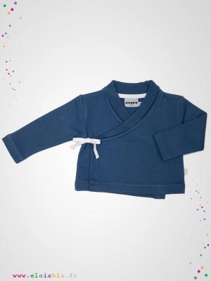 eloisbio-veste kimono blue-ink bebobio